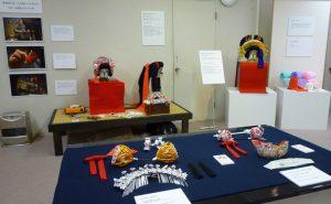 京都絞り工芸館展示